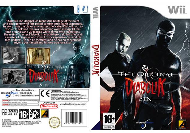 Игра для игровой консоли Nintendo Wii (PAL), Diabolik The Original Sin, фото 2