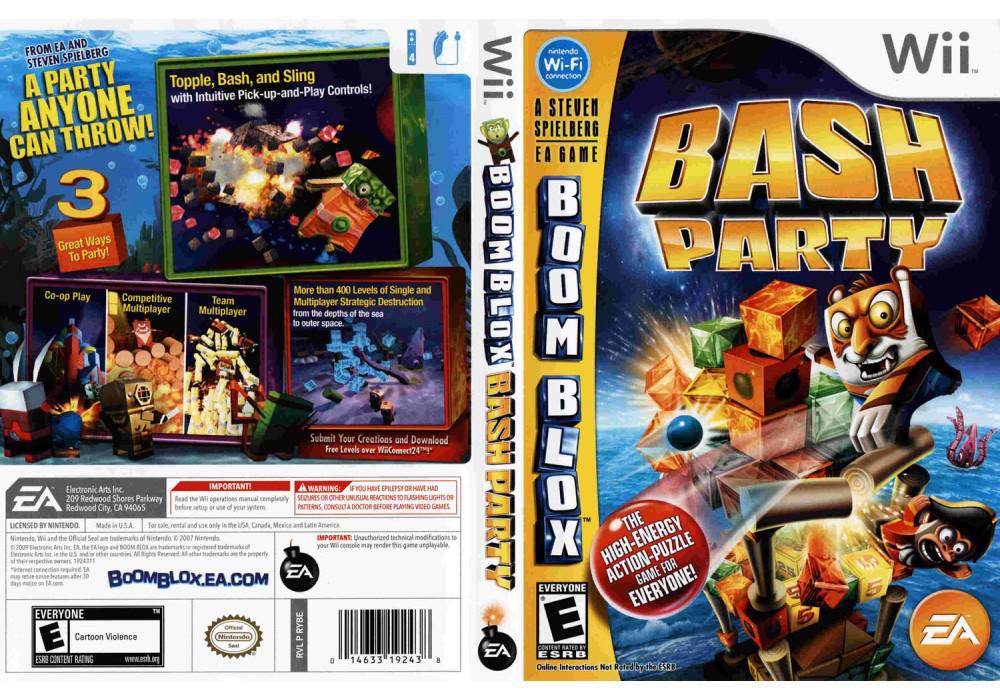 Игра для игровой консоли Nintendo Wii (PAL), Boom Blox Bash Party