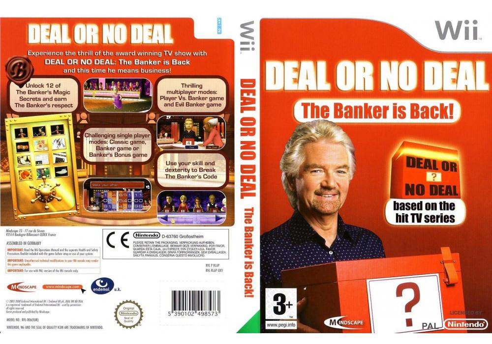 Игра для игровой консоли Nintendo Wii (PAL), Deal Or No Deal