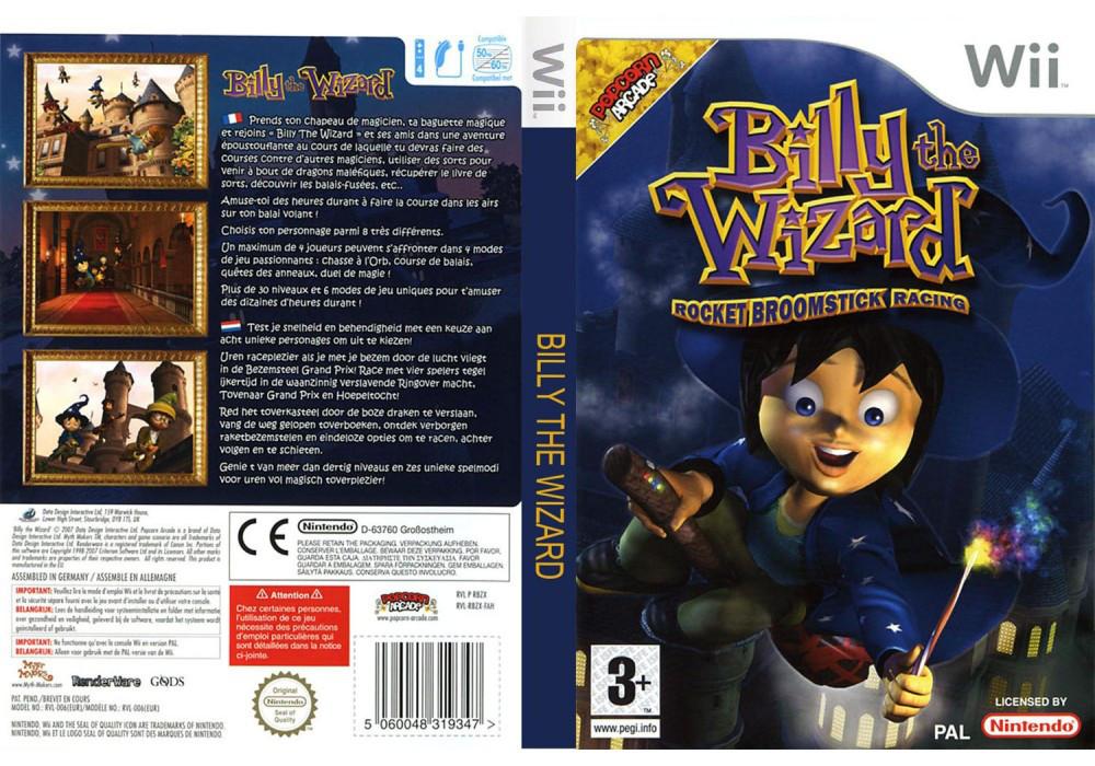 Игра для игровой консоли Nintendo Wii (PAL), Billy The Wizard Rocket Broomstick Racing