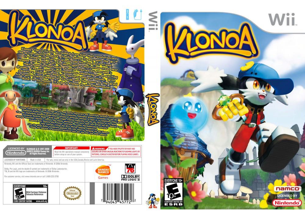 Игра для игровой консоли Nintendo Wii (PAL), Klonoa