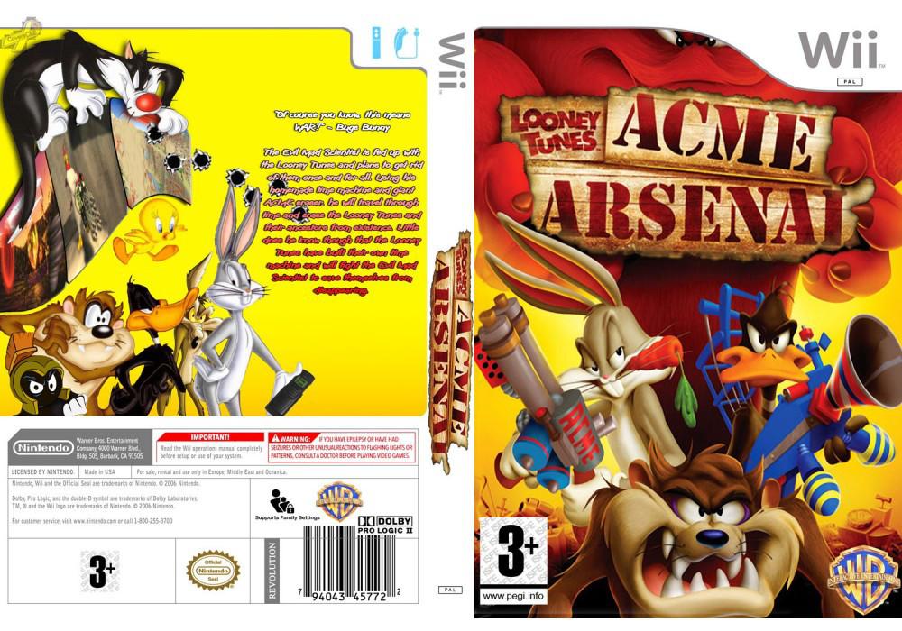 Гра для ігрової консолі Nintendo Wii (PAL), Looney Tunes ACME Arsenal
