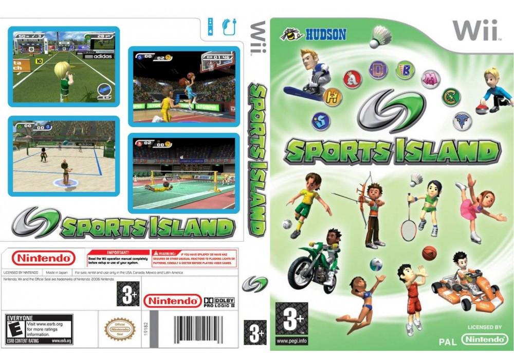 Игра для игровой консоли Nintendo Wii (PAL), Sport Island 2