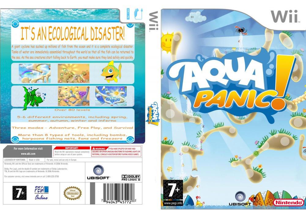 Игра для игровой консоли Nintendo Wii (PAL), Aqua Panic