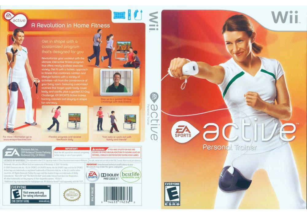 Игра для игровой консоли Nintendo Wii (PAL), EA Sports Active