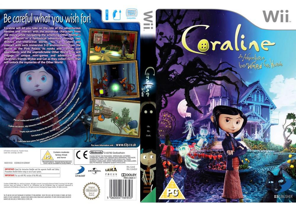 Гра для ігрової консолі Nintendo Wii (PAL), Coraline
