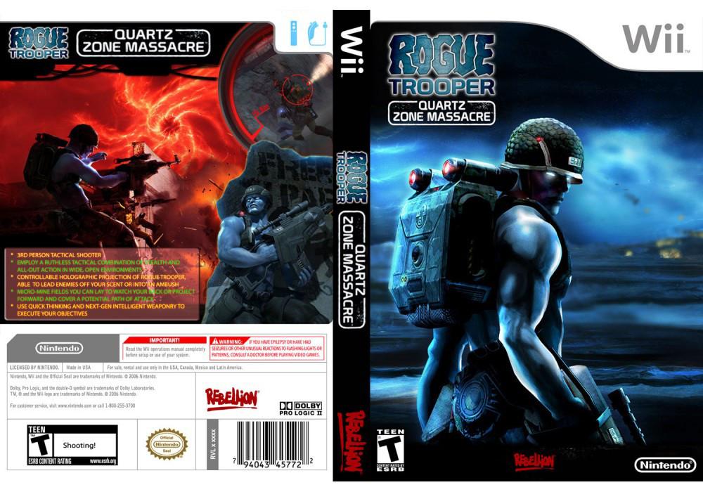 Гра для ігрової консолі Nintendo Wii (PAL), Rogue Trooper: Quartz Zone Massacre