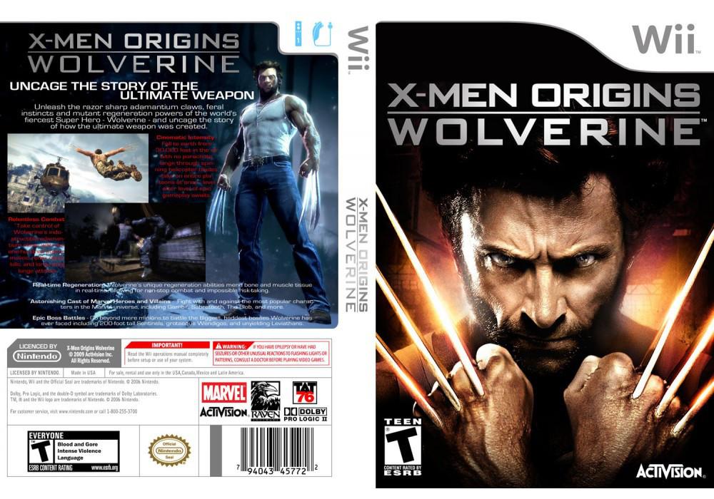 Игра для игровой консоли Nintendo Wii (PAL), X-MEN Origins Wolverine