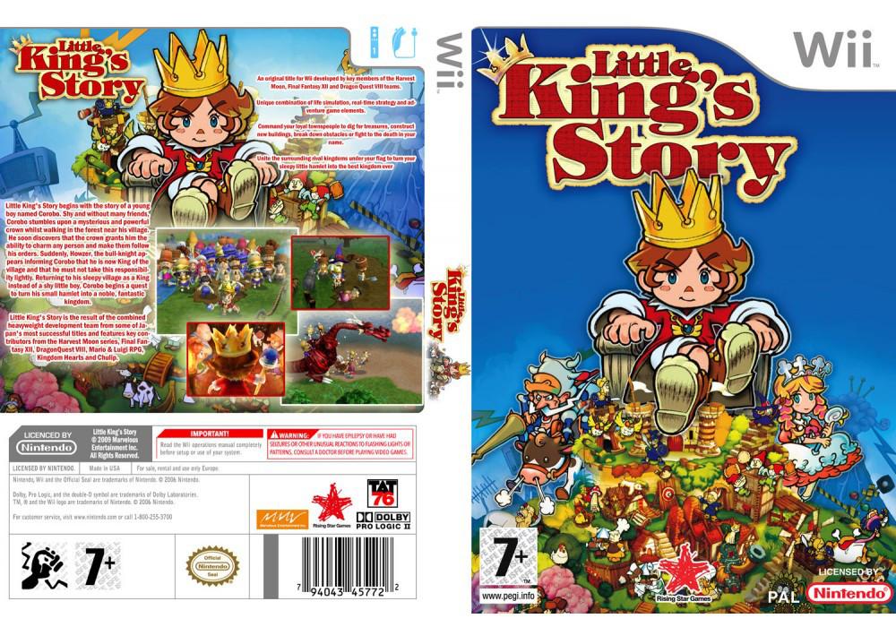 Игра для игровой консоли Nintendo Wii (PAL), Little King's Story
