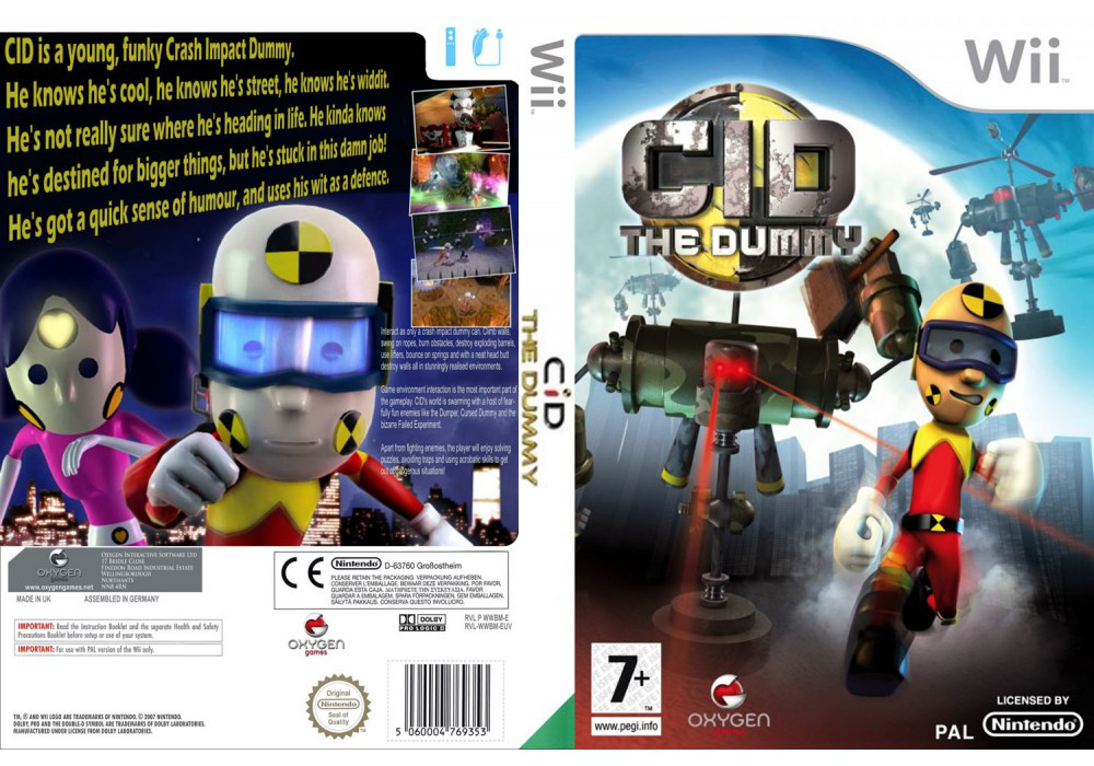 Игра для игровой консоли Nintendo Wii (PAL), C.I.D The Dummy
