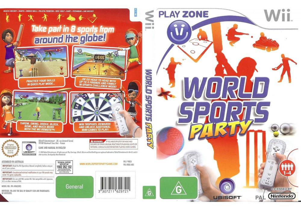 Игра для игровой консоли Nintendo Wii (PAL), World Sports Party