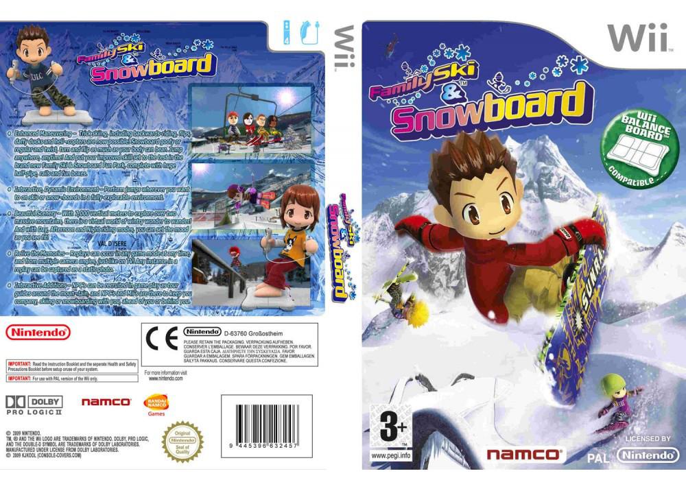 Игра для игровой консоли Nintendo Wii (PAL), Family Ski And Snowboard