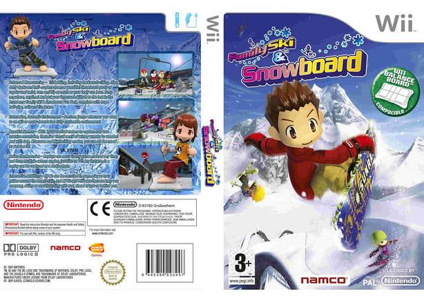 Игра для игровой консоли Nintendo Wii (PAL), Family Ski And Snowboard, фото 2