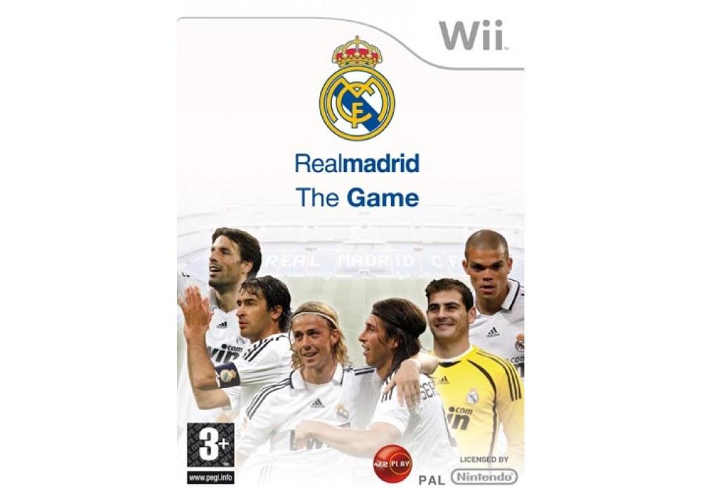 Игра для игровой консоли Nintendo Wii (PAL), Real Madrid: The game