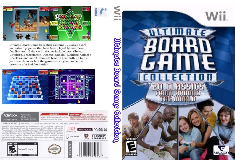 Игра для игровой консоли Nintendo Wii (PAL), Ultimate Board Game Collection