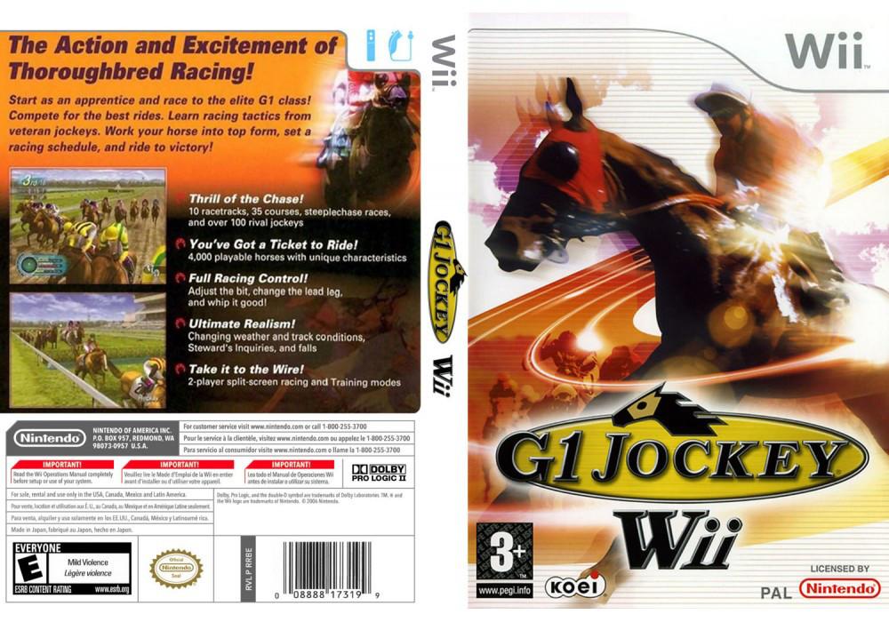 Игра для игровой консоли Nintendo Wii (PAL), G1 Jockey Wii 2008