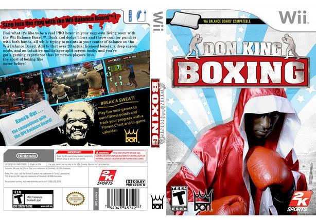 Игра для игровой консоли Nintendo Wii (PAL), Don King Boxing, фото 2