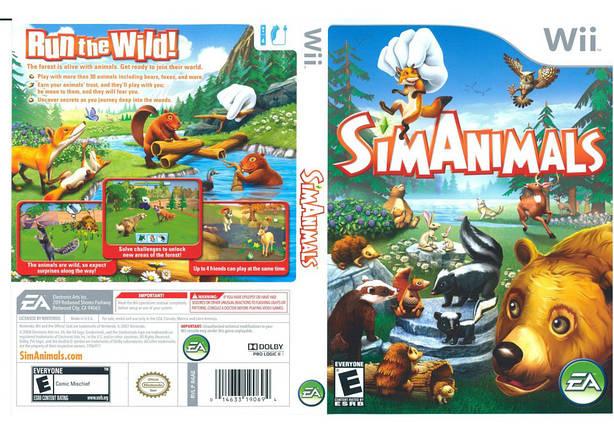 Игра для игровой консоли Nintendo Wii (PAL), SimAnimals, фото 2