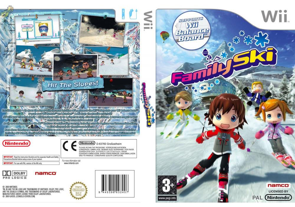 Игра для игровой консоли Nintendo Wii (PAL), Family Ski
