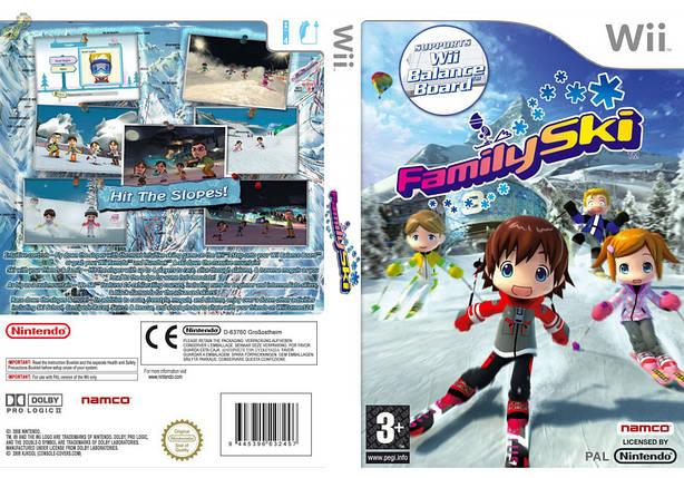 Игра для игровой консоли Nintendo Wii (PAL), Family Ski, фото 2