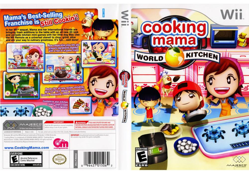 Игра для игровой консоли Nintendo Wii (PAL), Cooking Mama 2: World Kitchen