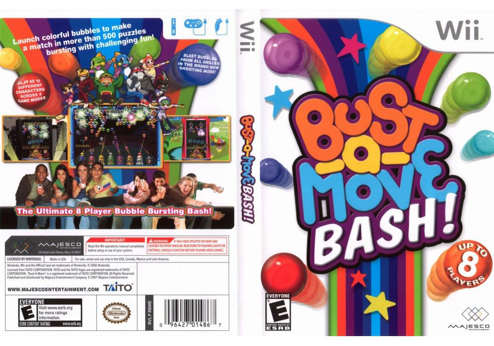 Игра для игровой консоли Nintendo Wii (PAL), Bust-A-Move Bash!