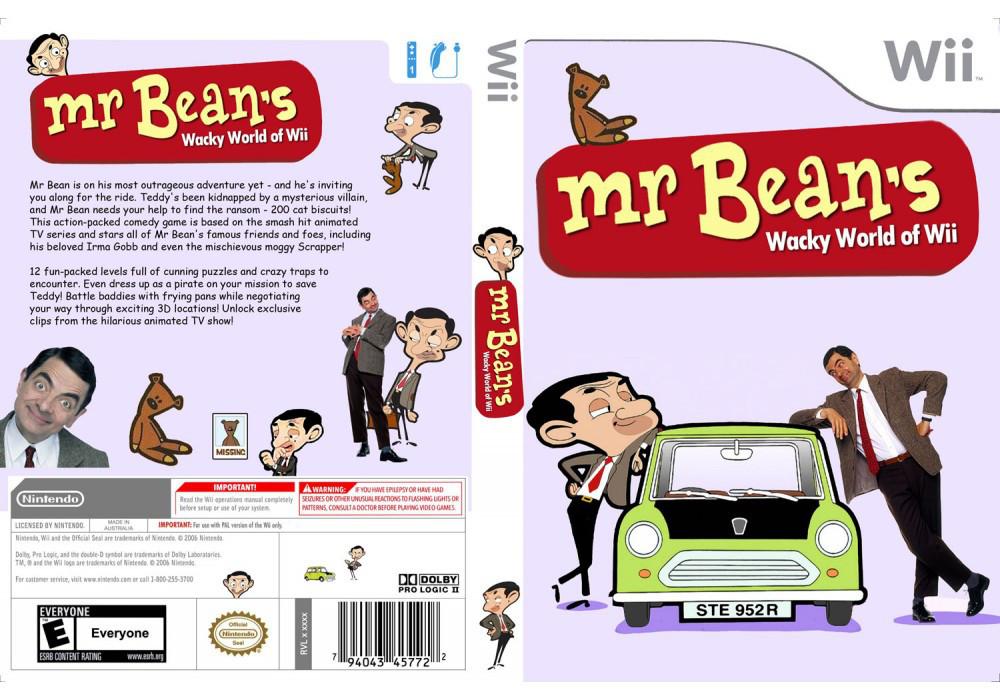 Игра для игровой консоли Nintendo Wii (PAL), Mr. Bean