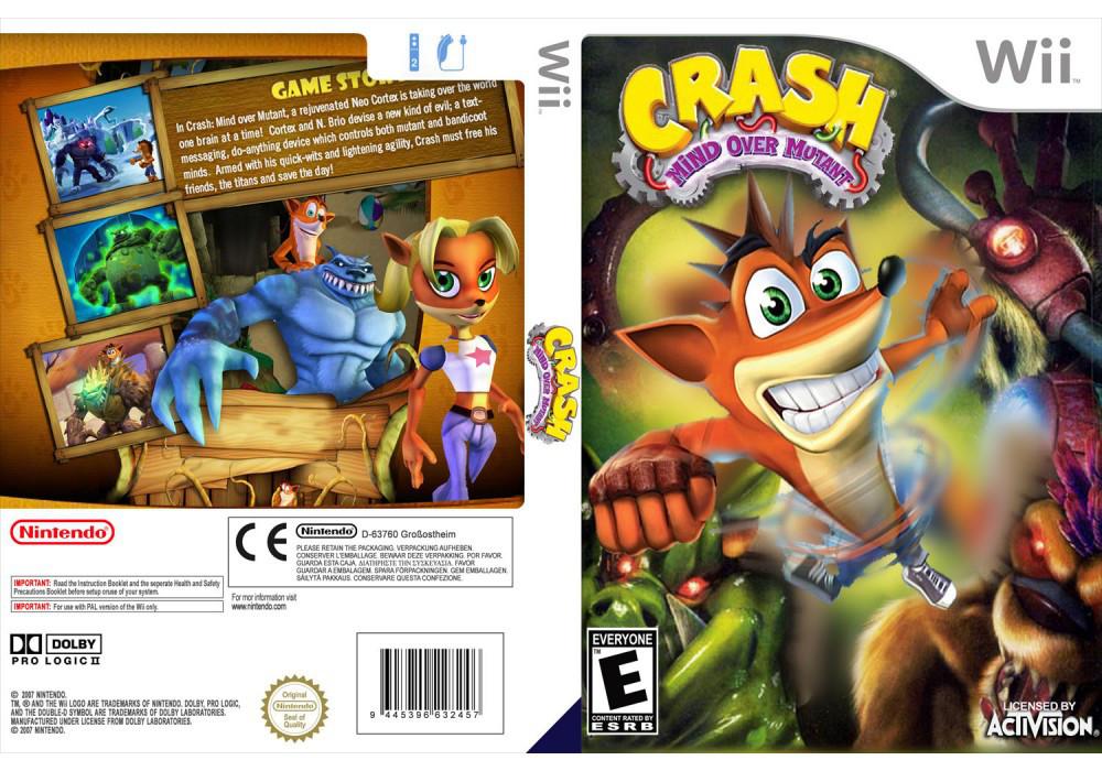 Игра для игровой консоли Nintendo Wii (PAL), Crash Bandicoot: Mind over Mutant