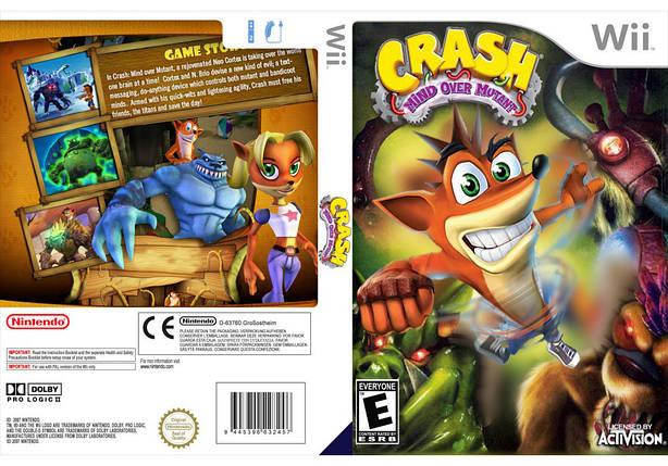 Игра для игровой консоли Nintendo Wii (PAL), Crash Bandicoot: Mind over Mutant, фото 2