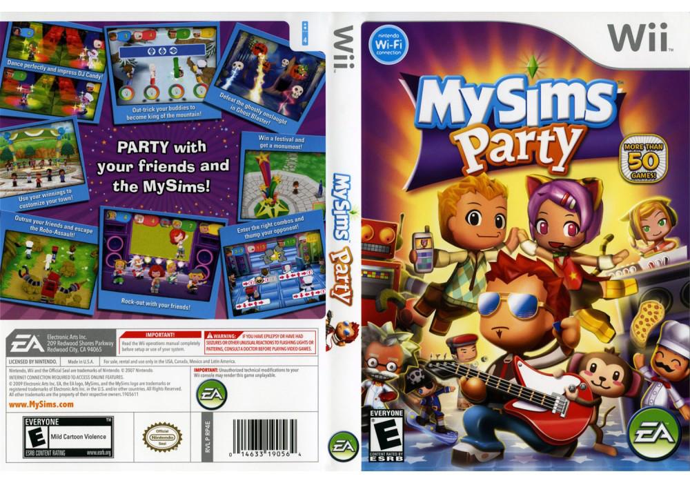 Игра для игровой консоли Nintendo Wii (PAL), MySims Party
