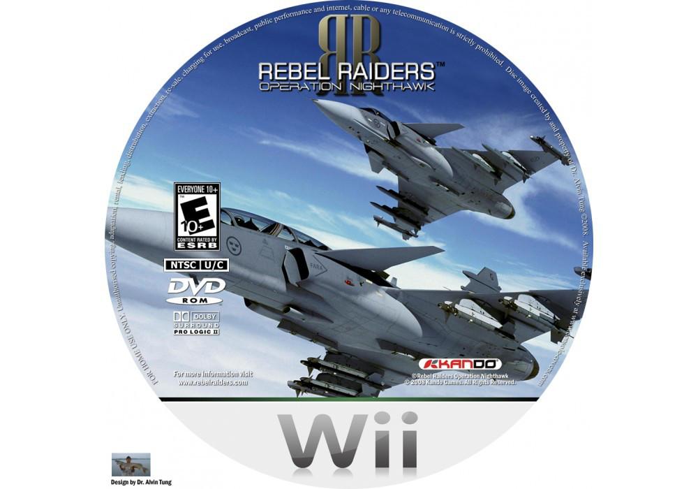 Игра для игровой консоли Nintendo Wii (PAL), Rebel Raiders: Operation Nighthawk