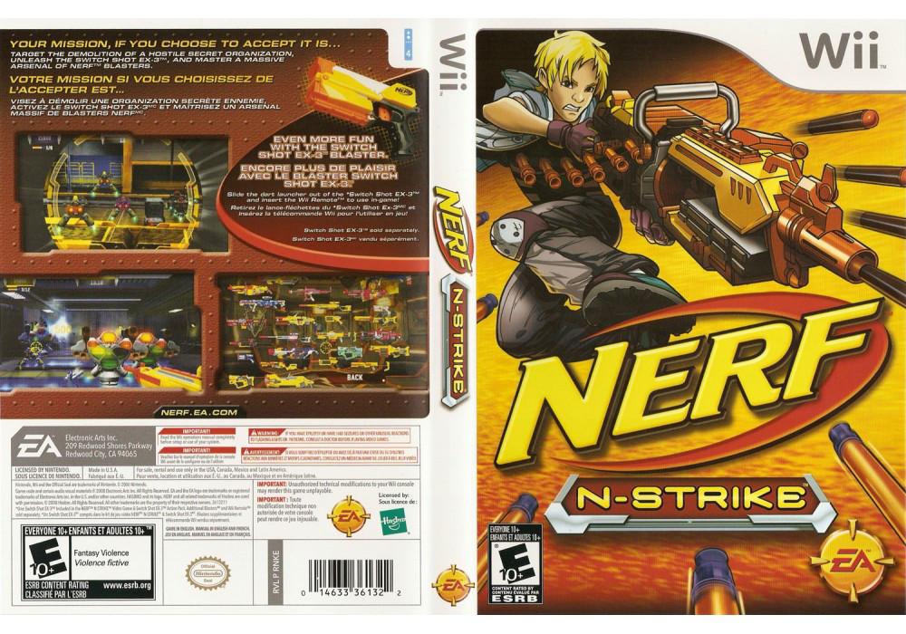 Игра для игровой консоли Nintendo Wii (PAL), Nerf N-Strike