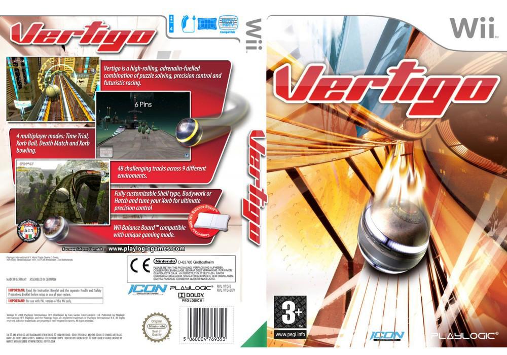 Игра для игровой консоли Nintendo Wii (PAL), Vertigo