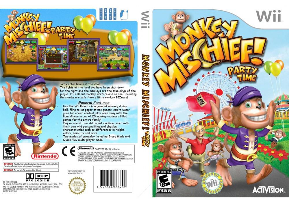 Игра для игровой консоли Nintendo Wii (PAL), Monkey Mischief