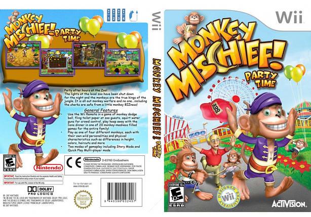 Игра для игровой консоли Nintendo Wii (PAL), Monkey Mischief, фото 2