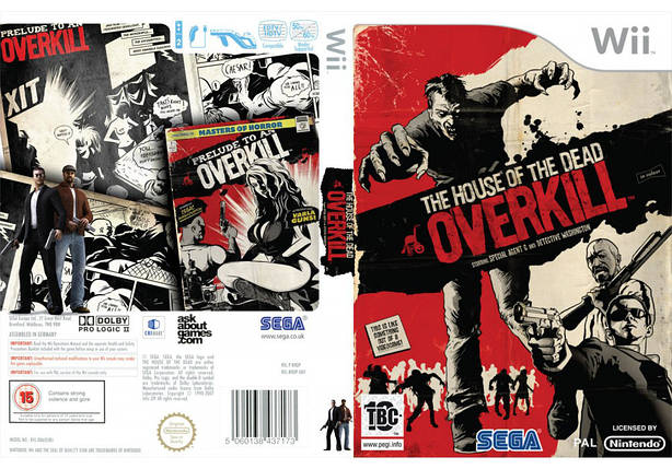 Игра для игровой консоли Nintendo Wii (PAL), The House of the Dead: Overkill, фото 2