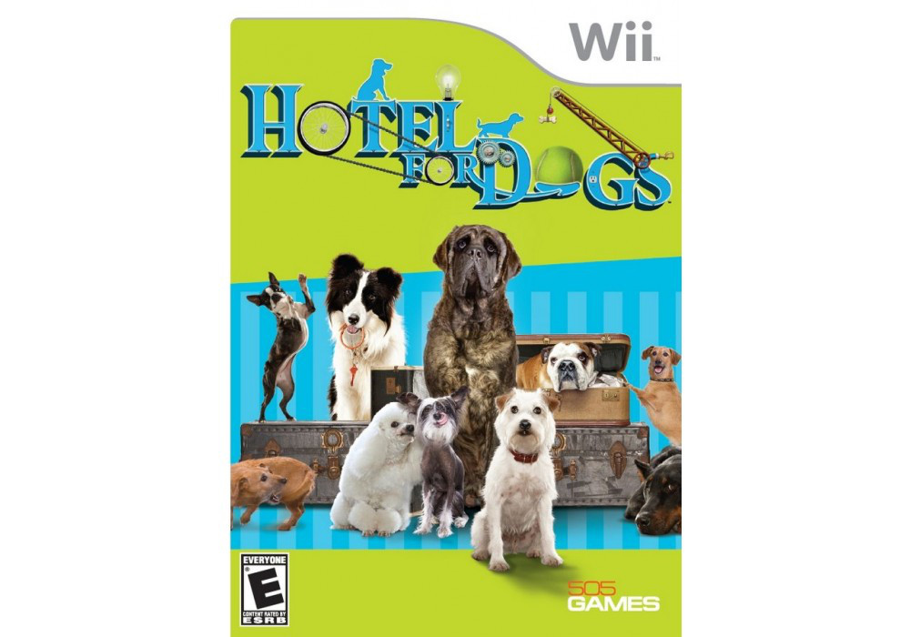 Игра для игровой консоли Nintendo Wii (PAL), Hotel for Dogs