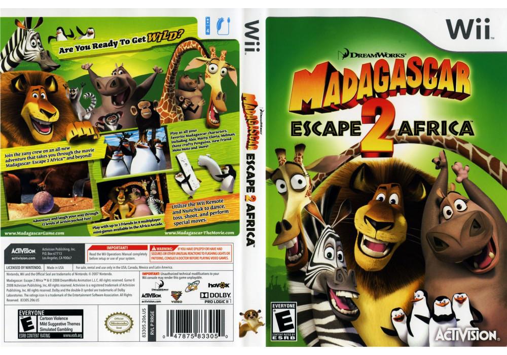 Игра для игровой консоли Nintendo Wii (PAL), Madagascar: Escape 2 Africa