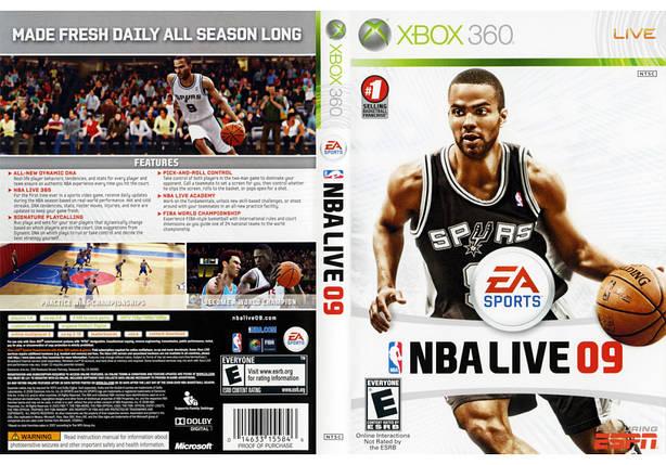 Игра для игровой консоли Nintendo Wii (PAL), NBA Live 09, фото 2