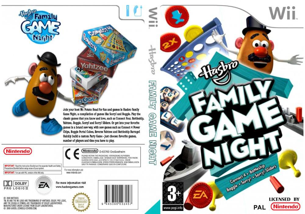 Игра для игровой консоли Nintendo Wii (PAL), Hasbro Family Game Night