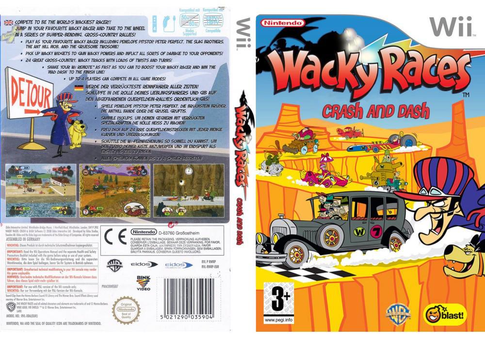 Игра для игровой консоли Nintendo Wii (PAL), Wacky Races Crash & Dash