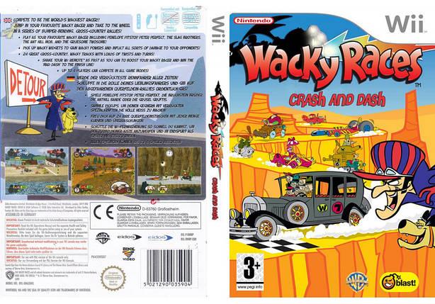 Игра для игровой консоли Nintendo Wii (PAL), Wacky Races Crash & Dash, фото 2