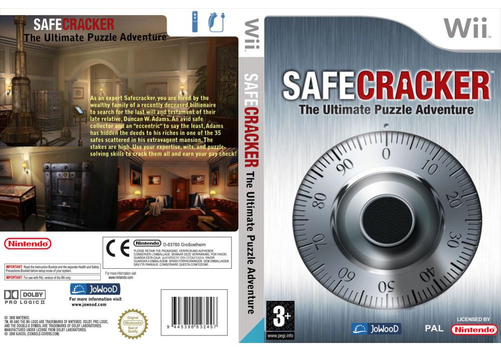 Игра для игровой консоли Nintendo Wii (PAL), Safecracker: The Ultimate Puzzle Adventure
