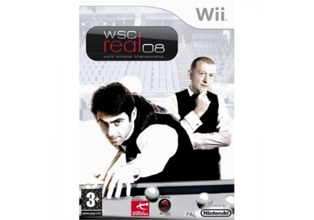 Игра для игровой консоли Nintendo Wii (PAL), WSC Real 08 World Snooker Championship 2008
