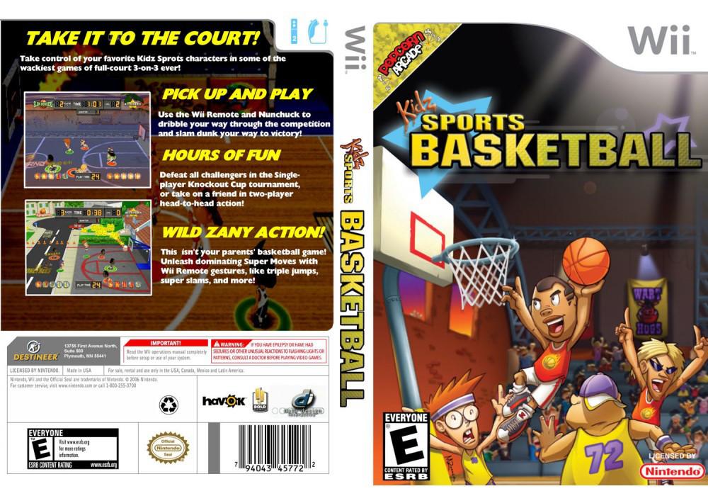 Игра для игровой консоли Nintendo Wii (PAL), Kidz Sports Basketball