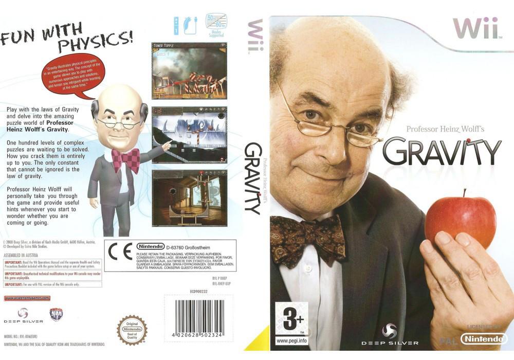 Игра для игровой консоли Nintendo Wii (PAL), Professor Heinz Wolffs Gravity