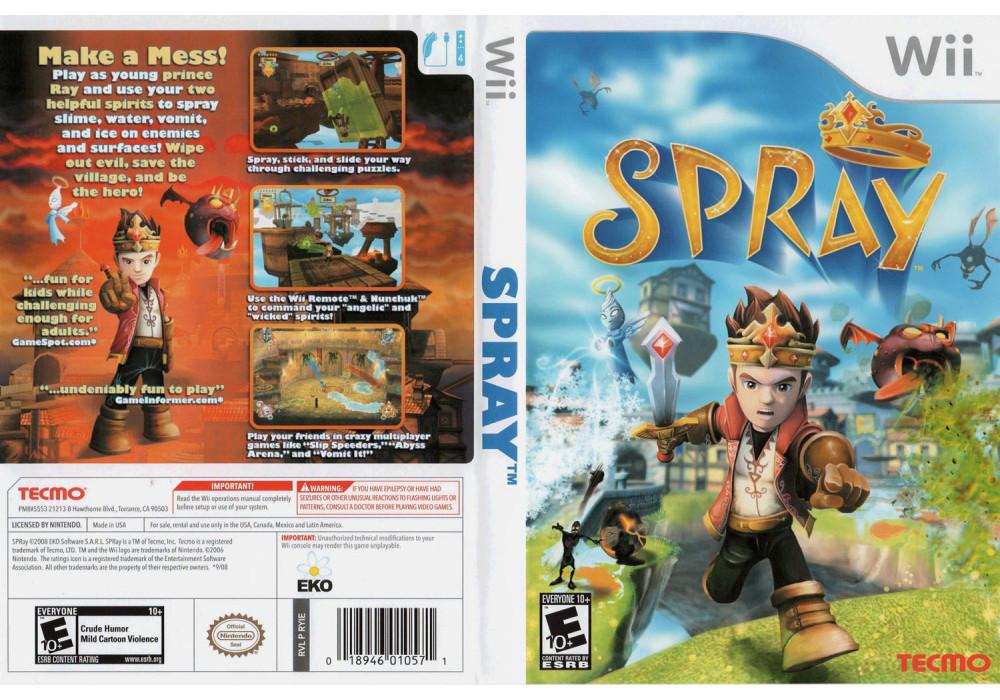 Игра для игровой консоли Nintendo Wii (PAL), Spray