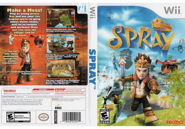 Игра для игровой консоли Nintendo Wii (PAL), Spray, фото 2