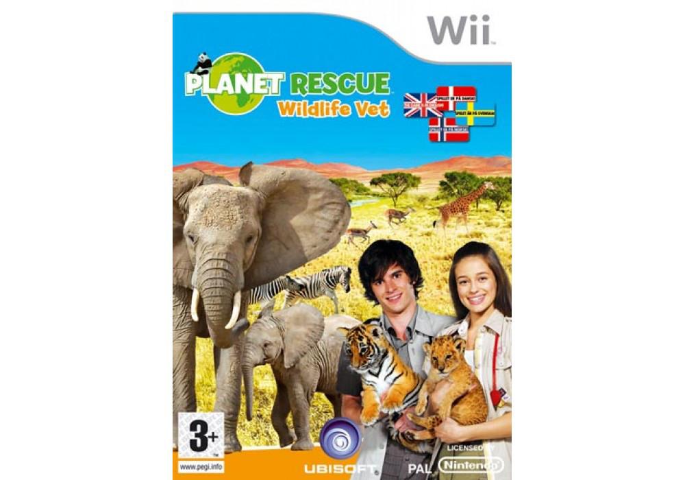Игра для игровой консоли Nintendo Wii (PAL), Planet Rescue Wildlife Vet