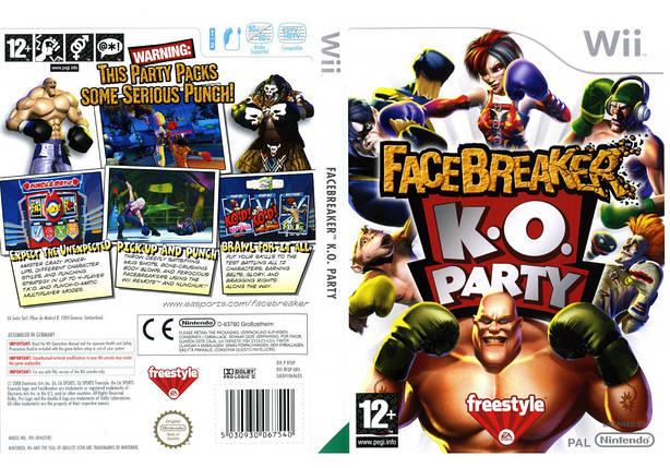 Игра для игровой консоли Nintendo Wii (PAL), Facebreaker K.O. Party, фото 2